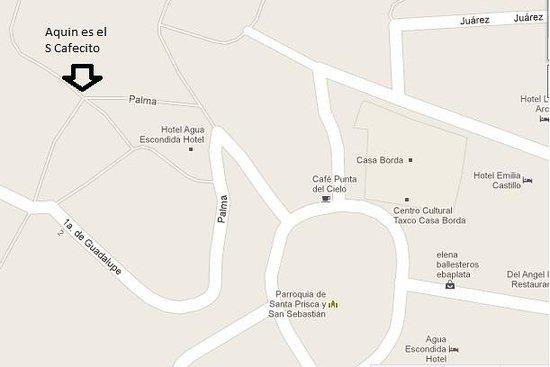 S caffecito: Ubicación del S Cafecito