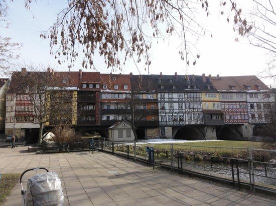 Hotel Krämerbrücke Erfurt: Richtung Krämer Brücke, 100m vom Hotel entfernt