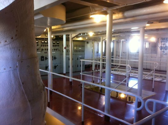 Lower Mississippi River Museum and Interpretive Center: Engine Room