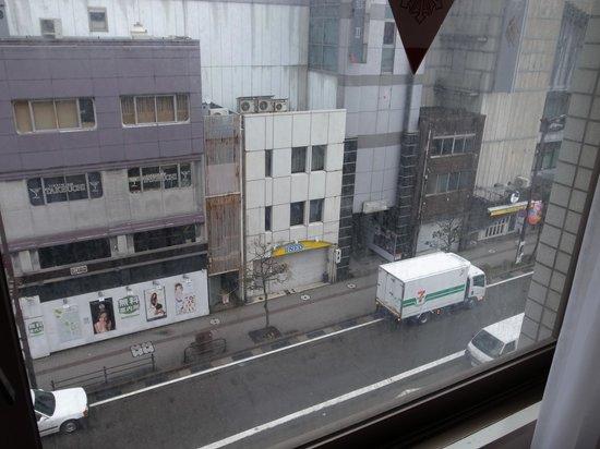 Smile Hotel Kanazawa : 部屋からの景色