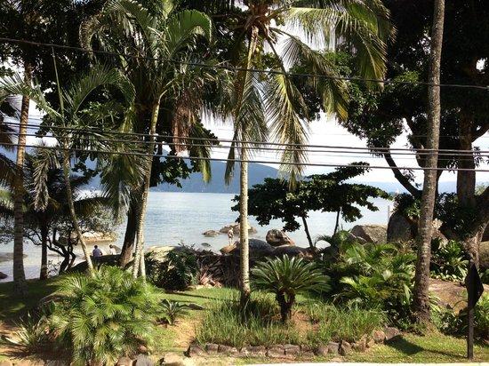 Porto Pacuiba Hotel: Praia do Viana logo na frente