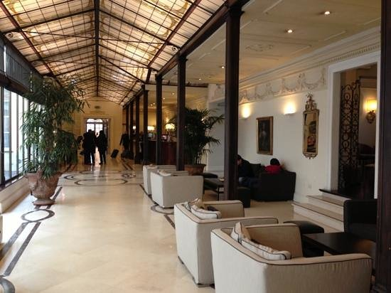 the lobby picture of nh firenze anglo american florence tripadvisor rh tripadvisor ie