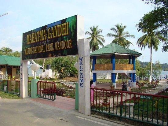 Image result for Mahatma Gandhi Marine National Park