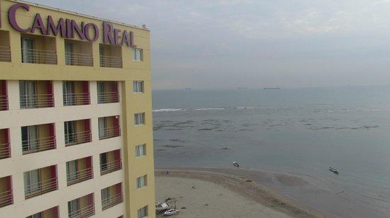 Camino Real Veracruz: Buena vista de la playa