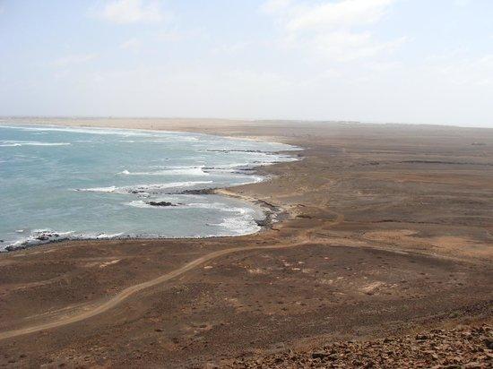 Crioula Club Hotel & Resort: panorama su kite beach