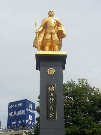 Gold Statue of Nobunaga Oda