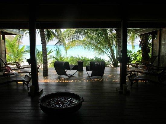 Kuramathi Island Resort: The Spa - Relaxation Area