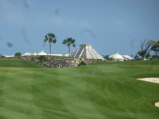 IBEROSTAR Paraiso Del Mar: View from golf Course