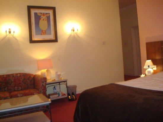 Nant Ddu Lodge Hotel & Spa: Large entrance to superior room
