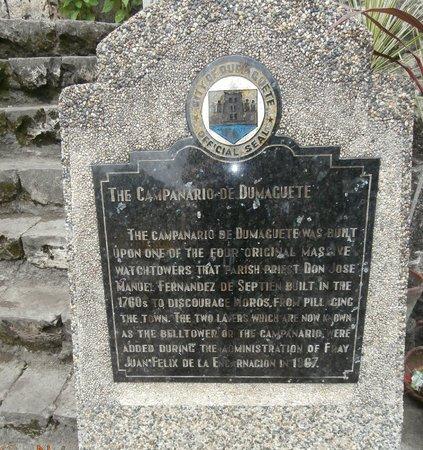Belfry Plaque in Tagalog