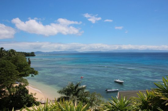 Taveuni Island Resort & Spa: Warm turquoise waters - hard to beat