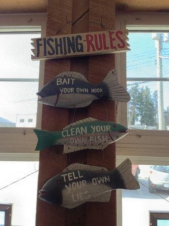 Dolly's Fish Market: fishing rules
