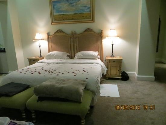 Fordoun Spa Hotel Restaurant: Romantic turndown