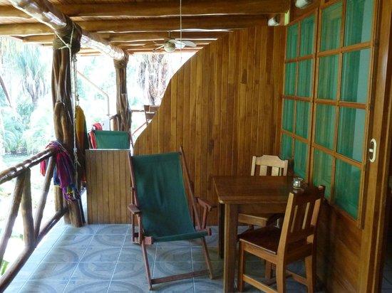 Giardino Tropicale: Balkon