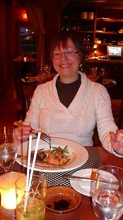Restaurant La Petite Cachee : Dinner time