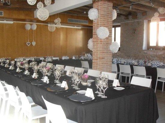 Hotel Moli de la Torre: Sala polivalente donde celebramos la boda.