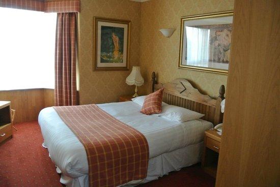 Leapark Hotel: onze slaapkamer in de villa van het hotel