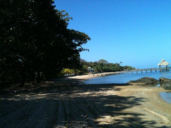 Sandy Bay Beach: Early morning