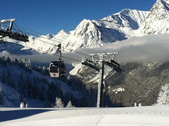 Résidence & Spa Vallorcine Mont-Blanc : Skigebiet
