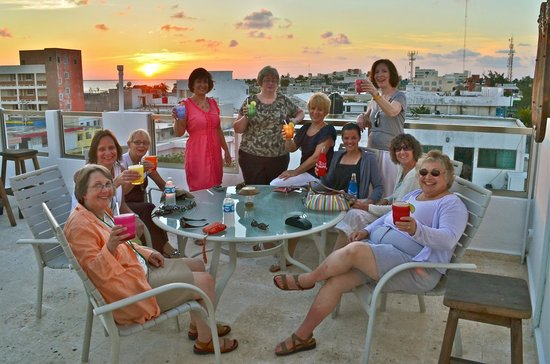 Casa Sirena Hotel: Casa Sirena caters to groups of family and friends