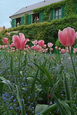 Tillieres-sur-Avre, France : Monet's Garden in Giverny.