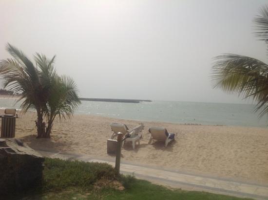 Hilton Ras Al Khaimah Resort & Spa: the beach from the villa