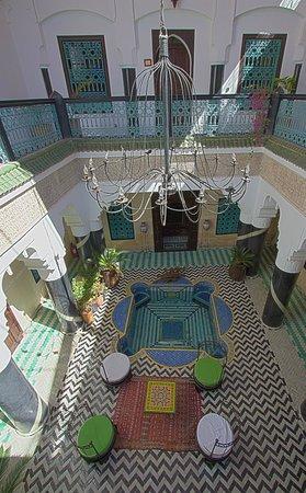 Riad Ben Tachfine ex Riad El mansour: Riad centre