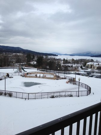 Holiday Inn Resort Lake George: View from the room