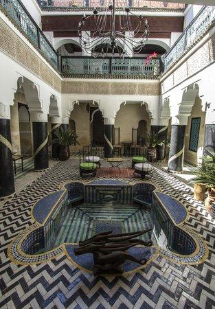 Riad El Mansour: Riad centre