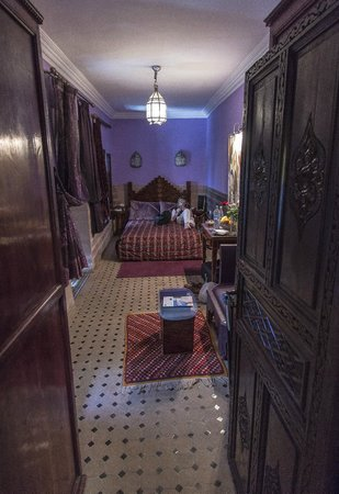 Riad El Mansour: Bedroom