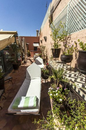 Riad El Mansour: Terrace