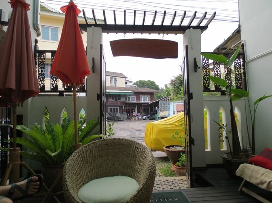 Top Garden Boutique Guesthouse: entrance to guesthouse