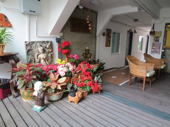 "Top Garden Boutique Guesthouse: Inside ""lobby"""