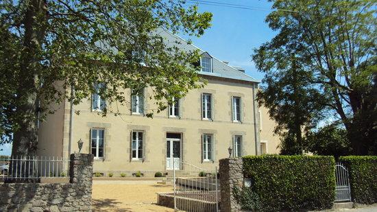 Maison Marie Barrault : Façade