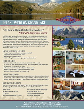Western Riviera Lakeside Lodging & Events: Western Riviera Lodging