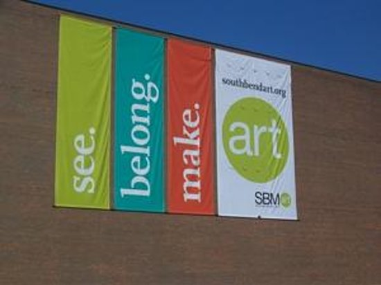 South Bend Museum of Art: The building was designed by architects Phillip Johnson and John Burgee.