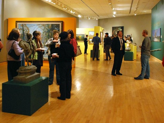 South Bend Museum of Art : First Friday events invite the community to mingle in the galleries.
