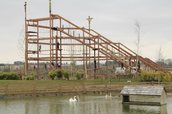 Tayto Park: The skywalk