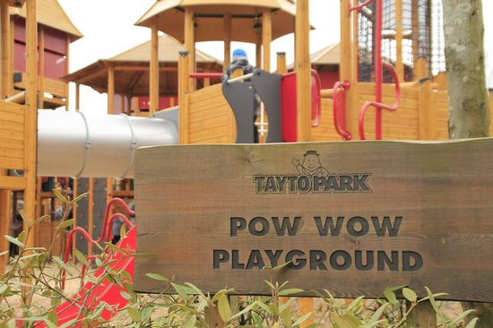 Tayto Park: The playground