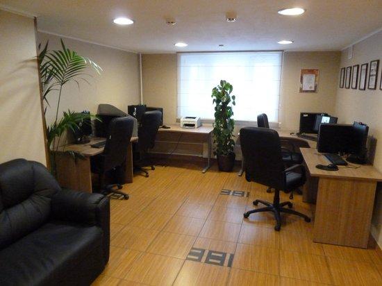 Hotel Aminevskaya: salle des ordinateurs