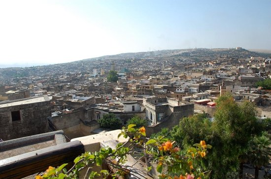 Dar Roumana: View of Fes from the terrace