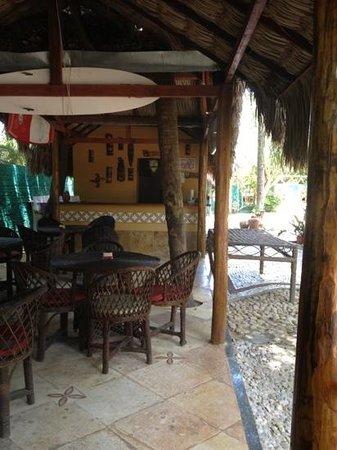Pousada Kitecabana Cumbuco: Área onde servem o café da manhã