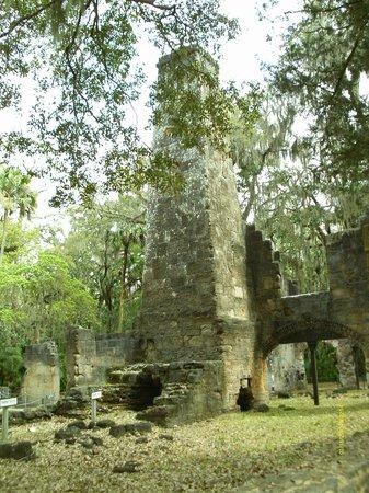 Bulow Plantation Ruins Historic State Park: Sugar Mill ruin