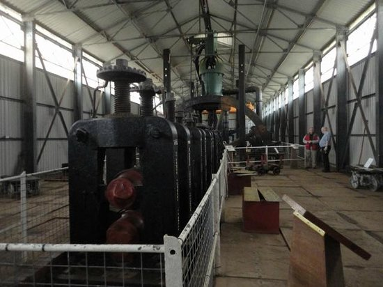 Kidwelly Industrial Museum: View of the rolling mill