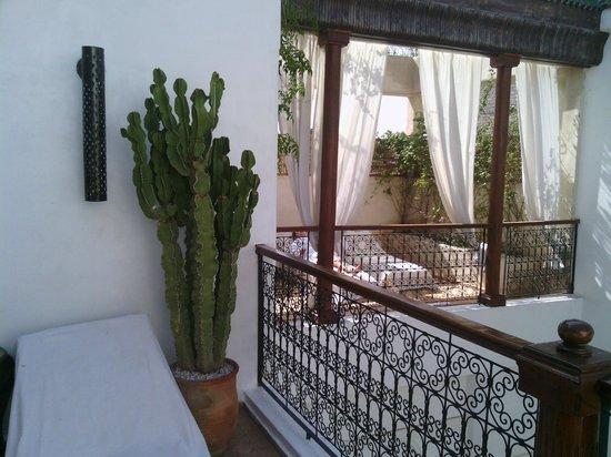 Bellamane, Ryad & Spa: Qu'il fait bon être sur la terrasse contigüe à la suite!