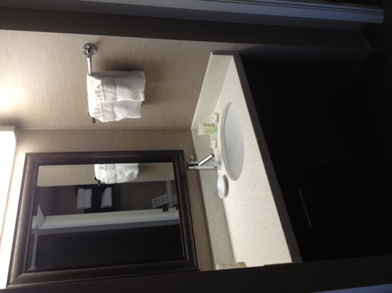 Staybridge Suites Hamilton - Downtown: Bathroom counter