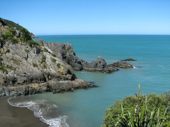 Blenheim, Selandia Baru: Monkey Bay, Rarangi - Marlborough