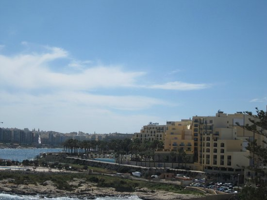 The Westin Dragonara Resort, Malta: View from our room