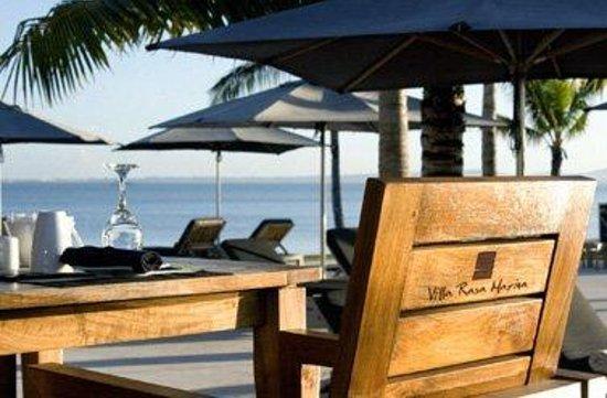 Villa Rasa Marina: Restaurant