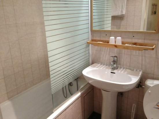 Hotel Du Moulin: bagno